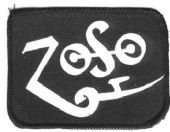 Led Zeppelin - 'Jimmy Page Zoso' Symbol Printed Patch